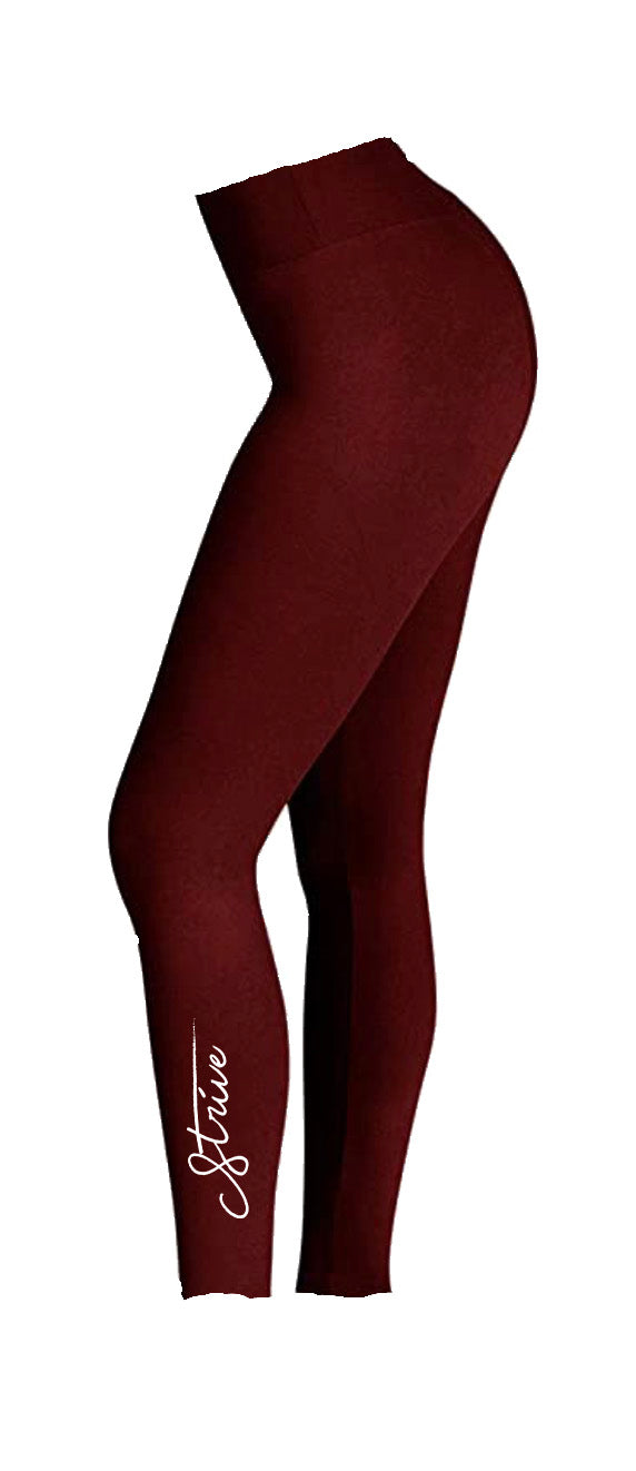 "STEM Women's ""Strive"" High Waisted Leggings"