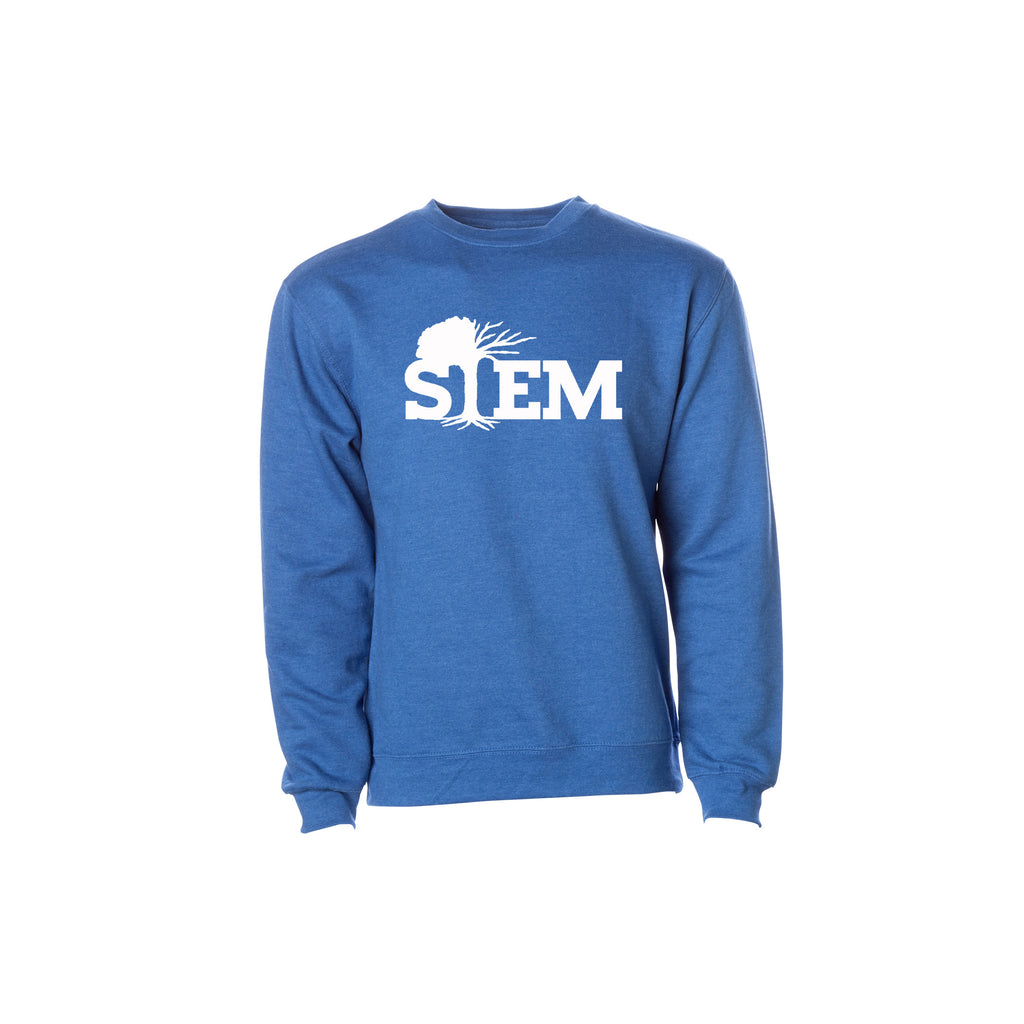 STEM Men's Essential Sweatshirt- Heather Edition - STEM Clothing Group