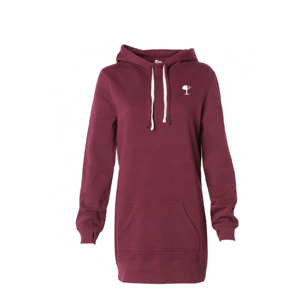 STEM Women's Fleece Hooded Dress - STEM Clothing Group