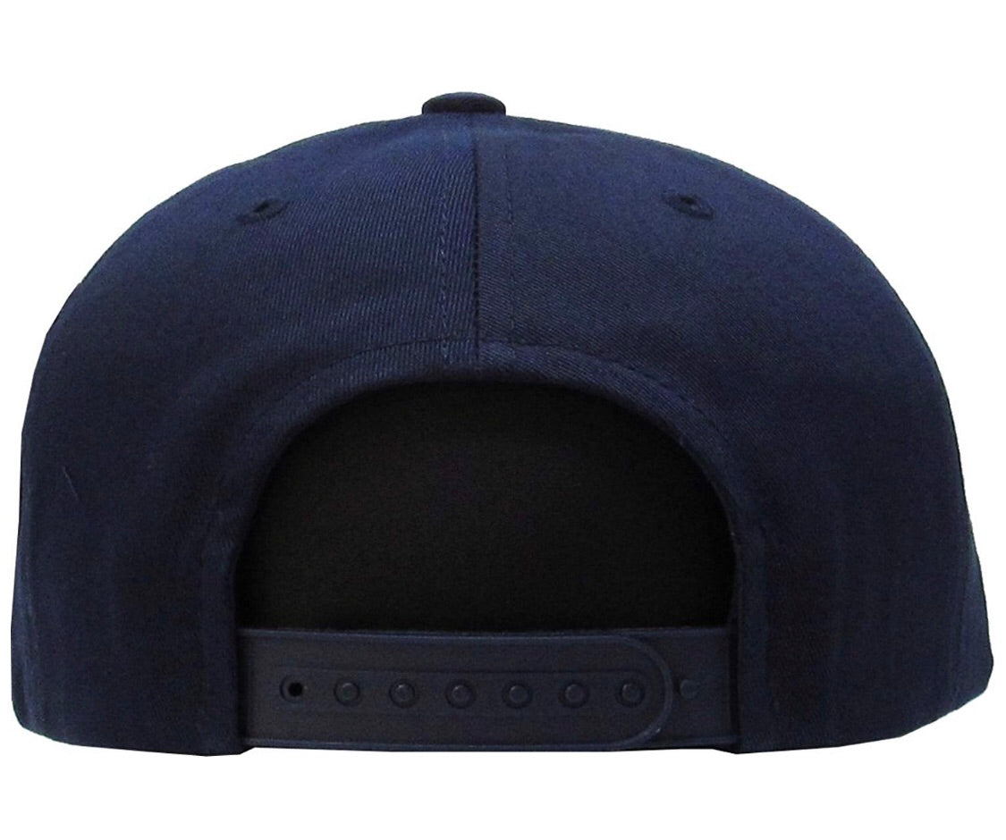 STEM Snapback (Navy Blue x White) - STEM Clothing Group