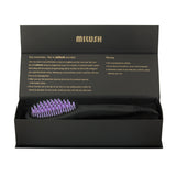 Hair Straightening Ceramic Brush - Light Purple - $49.99 - 50% OFF