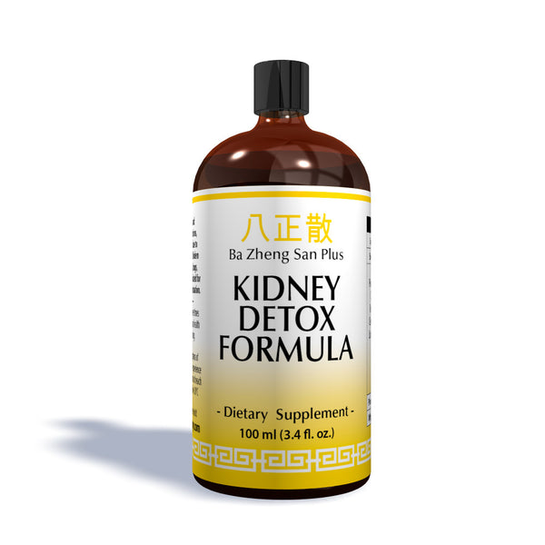 Kidney Detox Formula: Organic Concentrated Herbal Extract based on Traditional Chinese Medicine 100ml