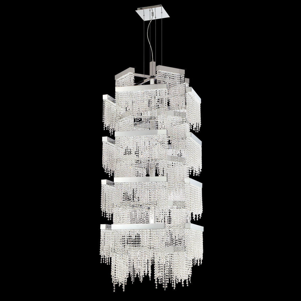 Eurofase rossi led 36 light chandelier consumers lighting eurofase rossi led 36 light chandelier arubaitofo Images