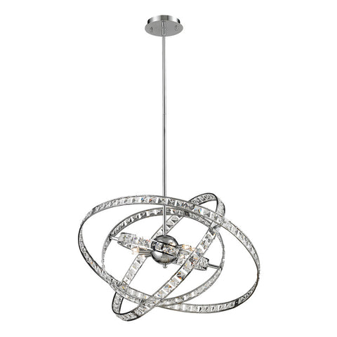 Elk Lighting 6 Light Crystal Pendant