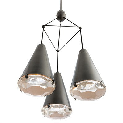 Arteriors Lighting 3 Light Estelle Chandelier