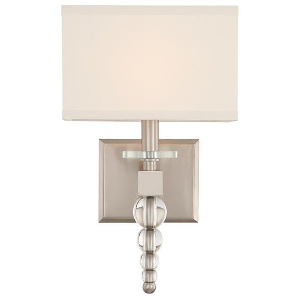 Crystorama Clover Wall Sconce