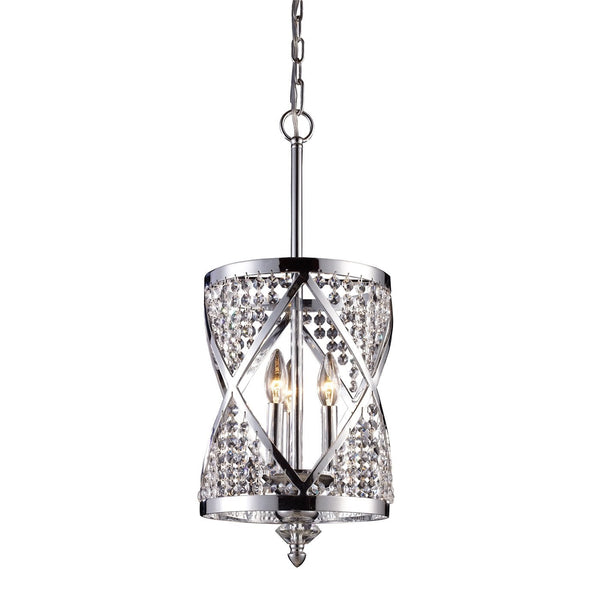Elk Lighting Crystoria 3 Light Pendant