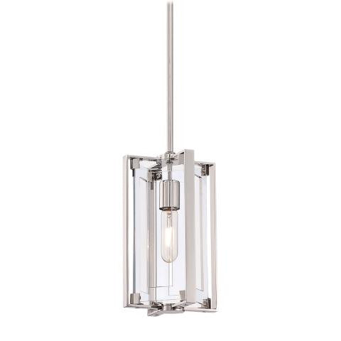 George Kovacs Crystal-Clear 1 Light Pendant
