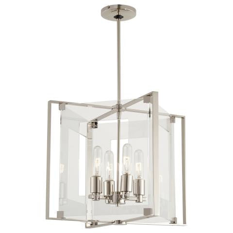 George Kovacs Crystal-Clear 4 Light Pendant