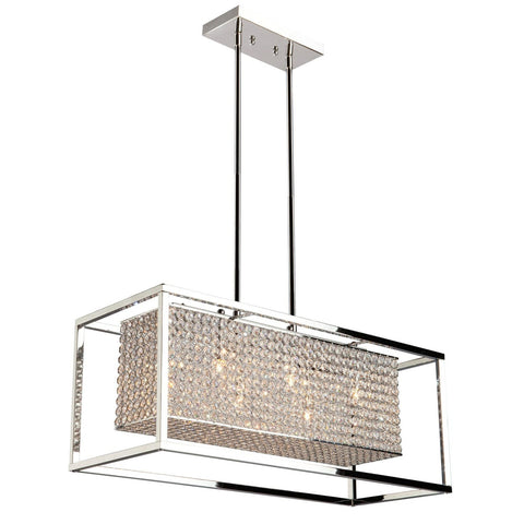 Artcraft Lighting Vega 6 Light Chandelier