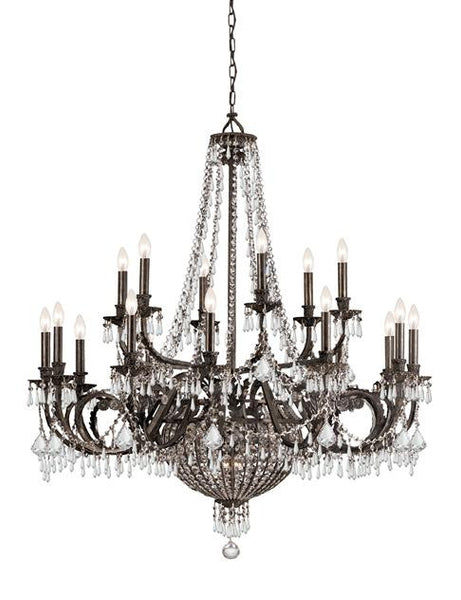 Crystorama Vanderbilt 23 Light Crystal Chandelier