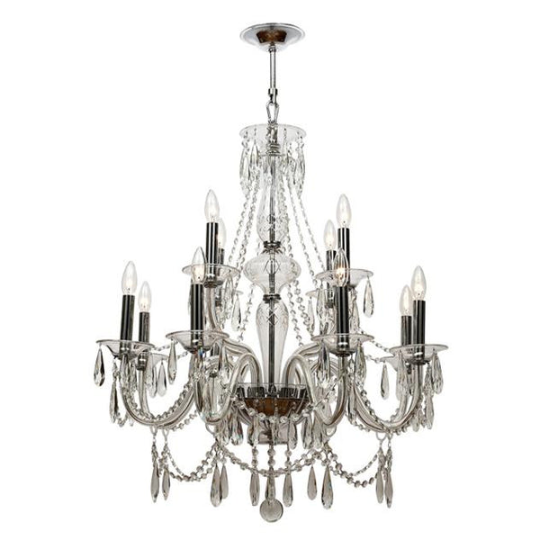 Crystorama Barrymore 12 Light Crystal Chandelier