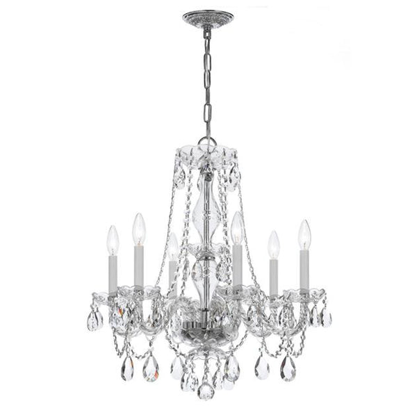 Crystorama 6 Light Crystal Chandelier