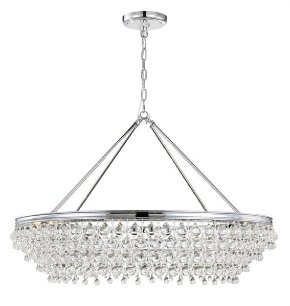 Crystorama Calypso 8 Light Crystal Chandelier