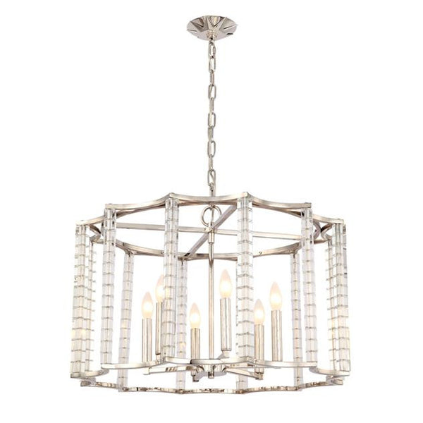 Crystorama Carson 6 Light Chandelier