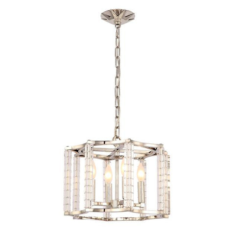 Crystorama 4 Light Mini Chandelier