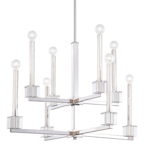 Metropolitan Lighting Chadbourne Collection 8 Light Chandelier