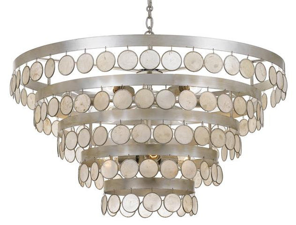 Crystorama Coco 9 Light Chandelier