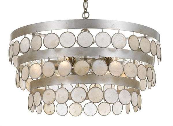 Crystorama Coco 6 Light Chandelier
