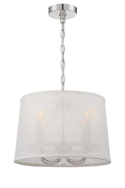 Crystorama Culver 4 Light Chandelier