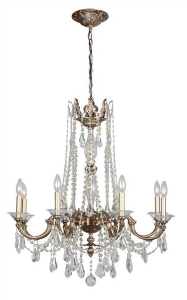 Crystorama Delancey 8 Light Chandelier