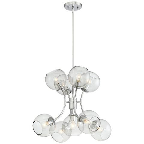 George Kovacs 9 Light Chandelier