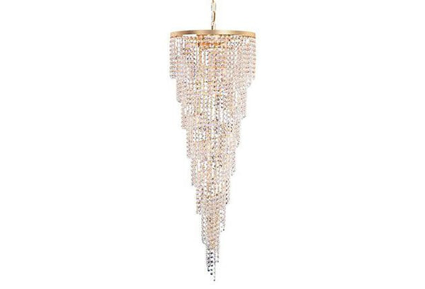 Crystorama Shower 15 Light Clear Crystal Chandelier