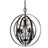 Canarm Jordan 4 light chain Chandelier