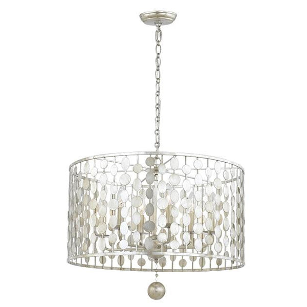 Crystorama Layla 6 Light Chandelier