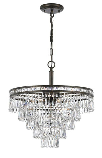 Crystorama Mercer 6 Light Chandelier