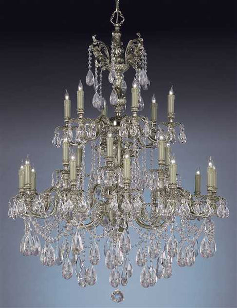 Crystorama Novella 24 Light Swarovski Crystal Chandelier