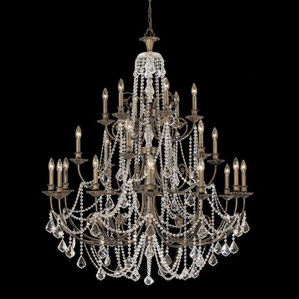 Crystorama Regis 24 Light Crystal Chandelier
