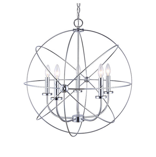 Canarm Summerside Chrome Chain Chandelier