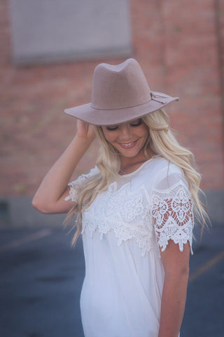 Gracie Lace Top