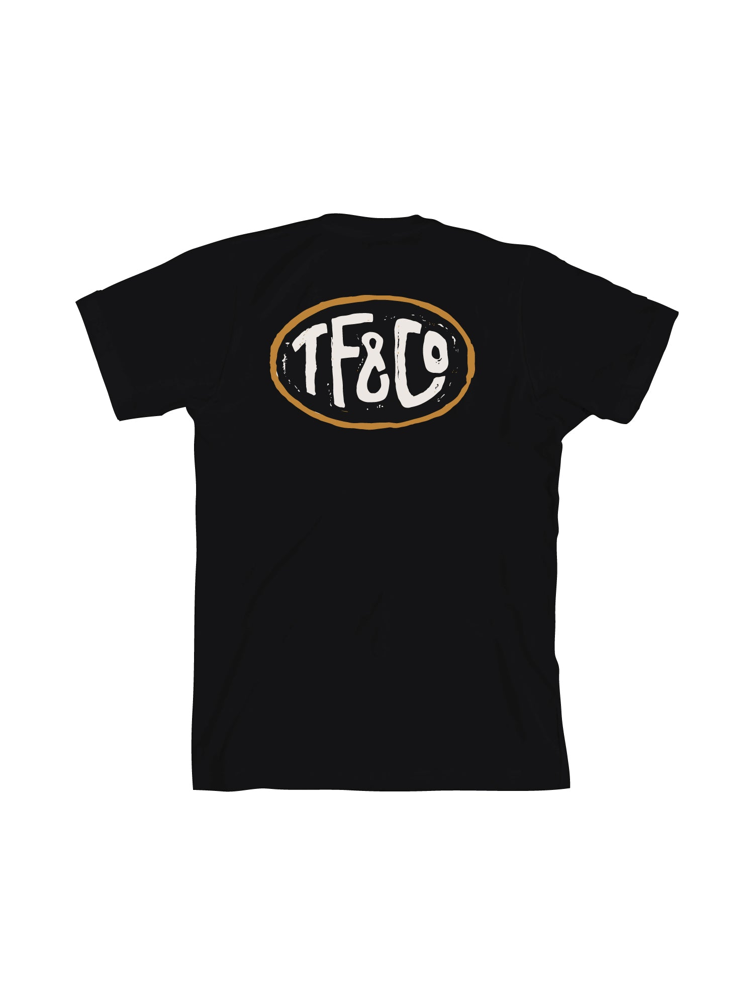 TF OVAL - BLACK - Tankfarm & Co.