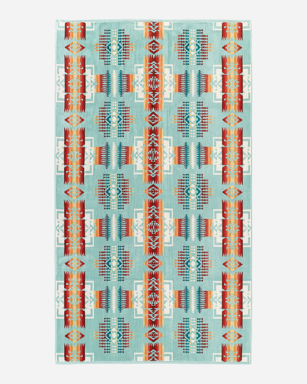 CHIEF JOSEPH SPA TOWEL - AQUA - Tankfarm & Co.