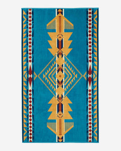 EAGLE GIFT SPA TOWEL - TURQUOISE - Tankfarm & Co.