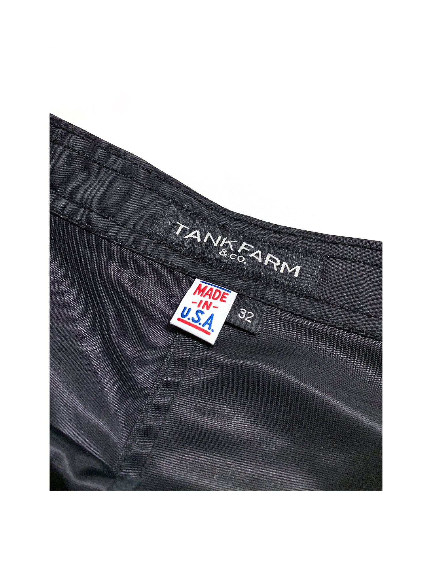 SEASIDE BOARDSHORT- BLACK - Tankfarm & Co.