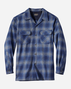 BOARD SHIRT - TAN/BLUE - Tankfarm & Co.