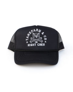 OWL & WRENCHES HAT - BLACK - Tankfarm & Co.