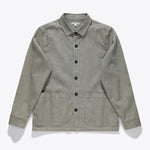 FORMATION L/S WOVEN SHIRT - DIRTY BLACK - Tankfarm & Co.