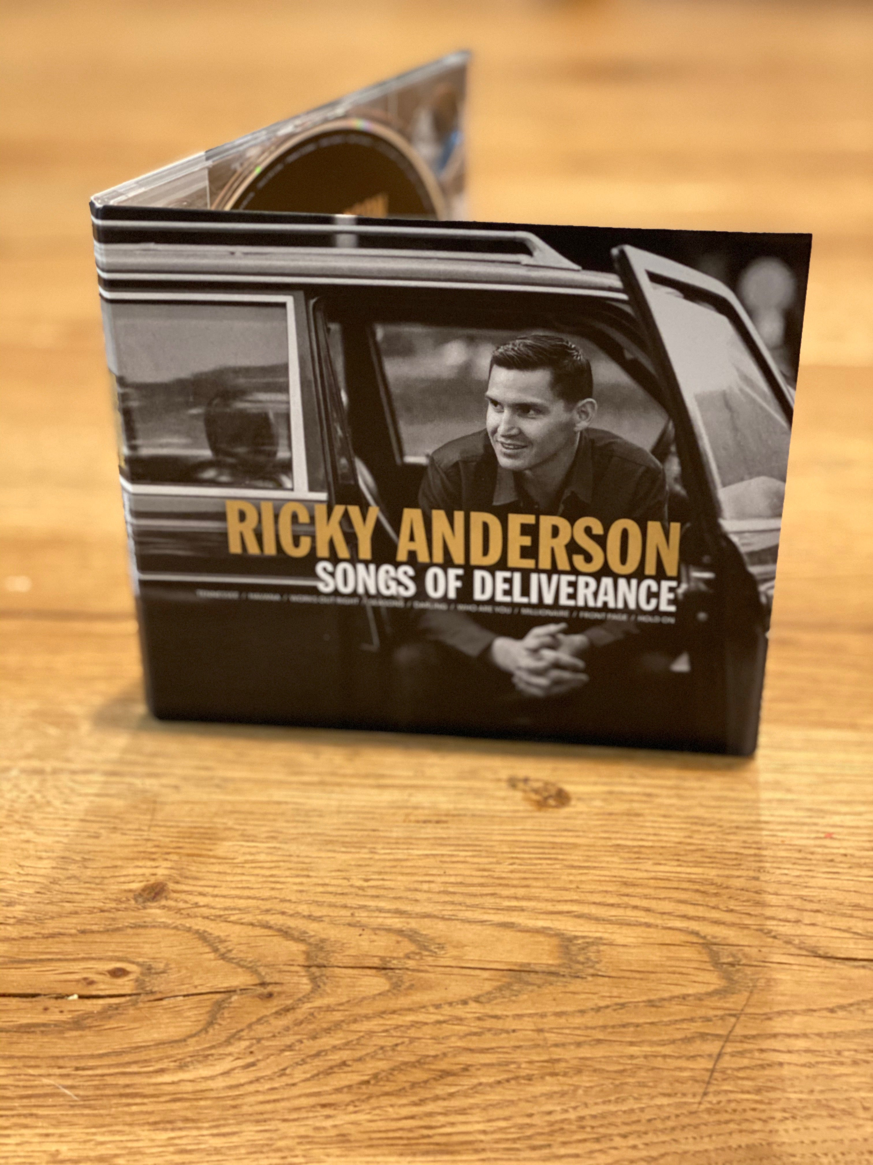 RICKY ANDERSON - SONGS OF DELIVERANCE - Tankfarm & Co.