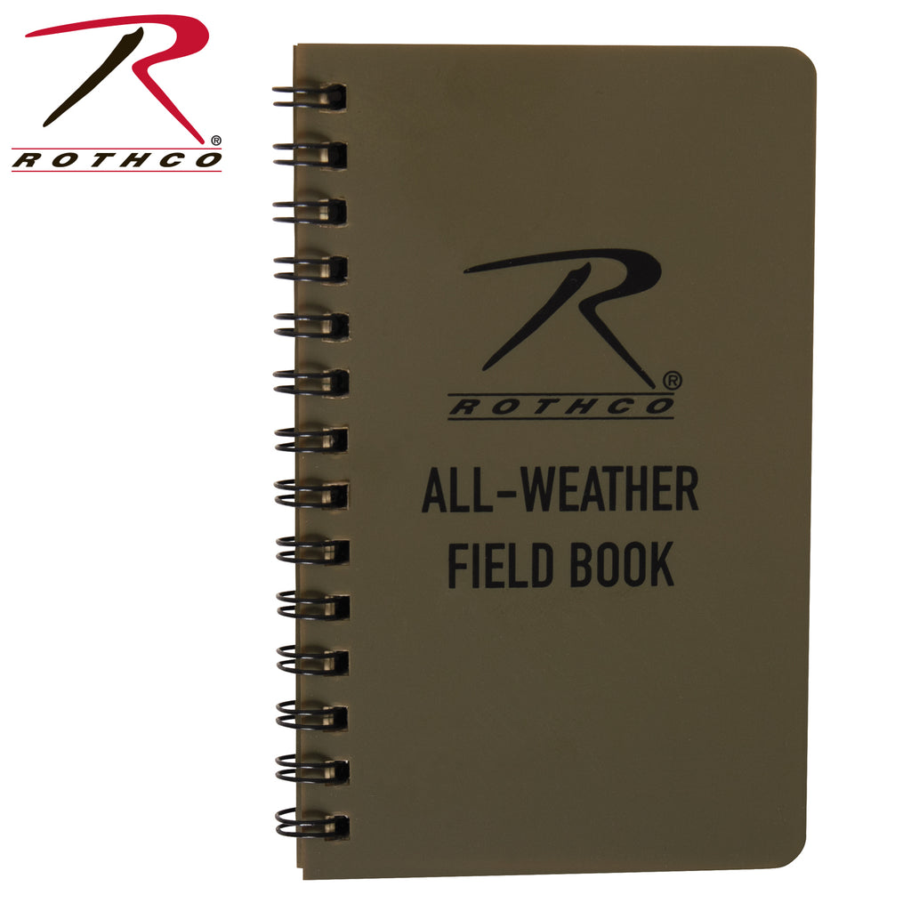 ROTHCO ALL WEATHER WATERPROOF NOTEBOOK - Tankfarm & Co.