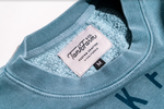 SHORE BREAK CREW NECK - SLATE BLUE