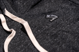 TF OWL PREMIUM HOODIE - HEATHER GREY - Tankfarm & Co.