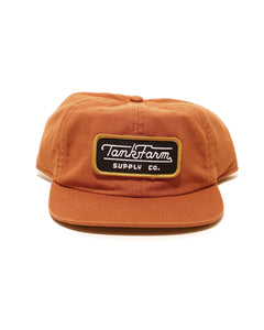 STREAMLINER PATCH HAT - RUST - Tankfarm & Co.