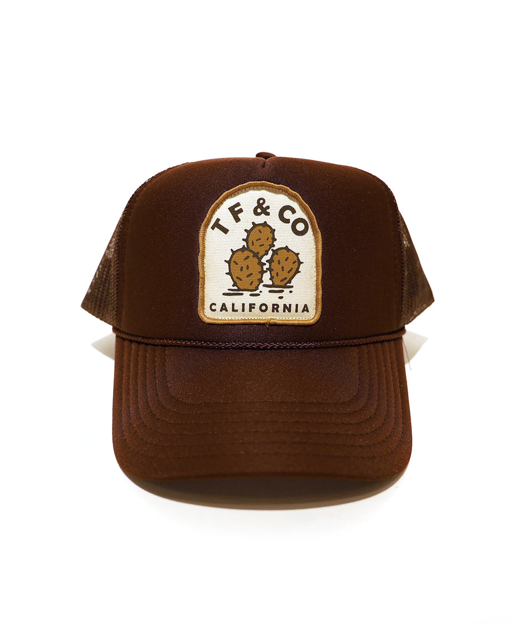 TF CACTUS FOAM TRUCKER - BROWN - Tankfarm & Co.