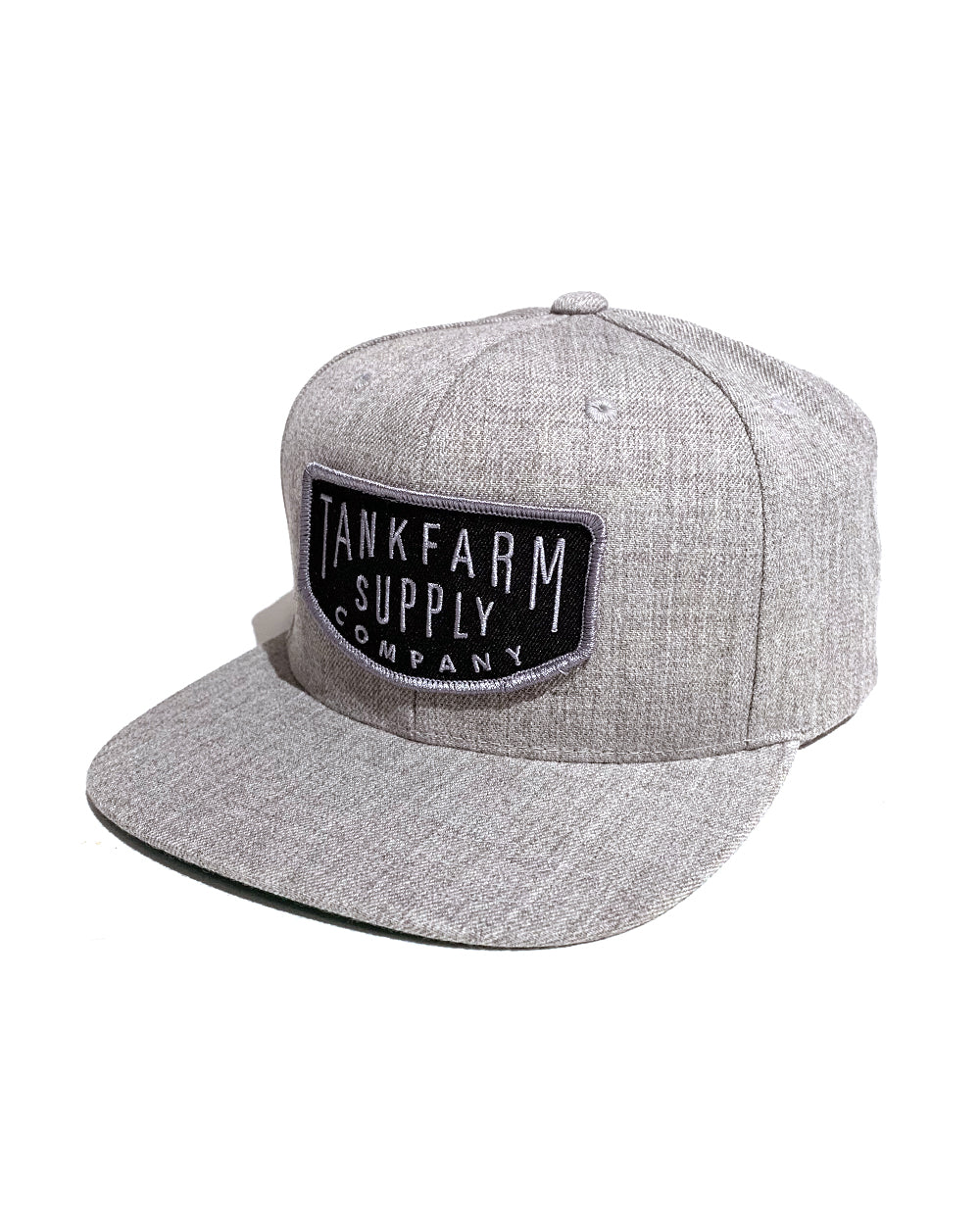 TANKFARM STANDARD BRAND SNAPBACK - HEATHER GREY