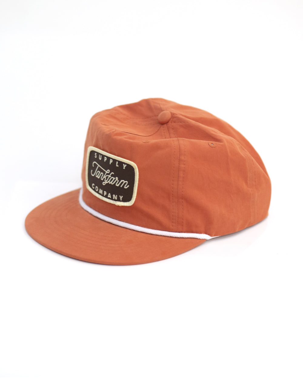 SUPPLY SHIELD SNAPBACK- ORANGE - Tankfarm & Co.