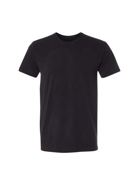 TankFarm Blank Tee - TF SUEDED CREW- BLACK